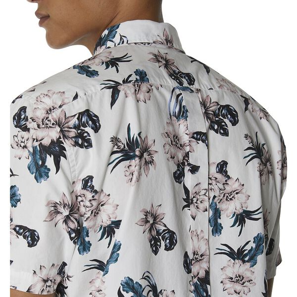 LARGE SCALE FLORAL SHIRT, OFF WHITE, hi-res