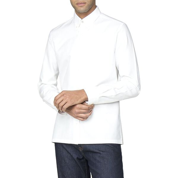 Archive Benny Shirt, WHITE, hi-res