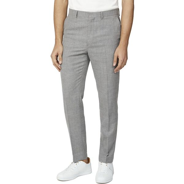 COOL GREY BROKEN STRUCTURE CAMDEN TROUSER