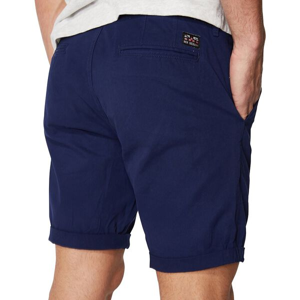 Pleat Front Walk Short, DARK NAVY, hi-res