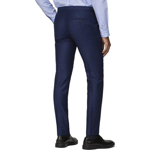 British Bright Blue Crepe Trouser Bright, BRIGHT BLUE, hi-res