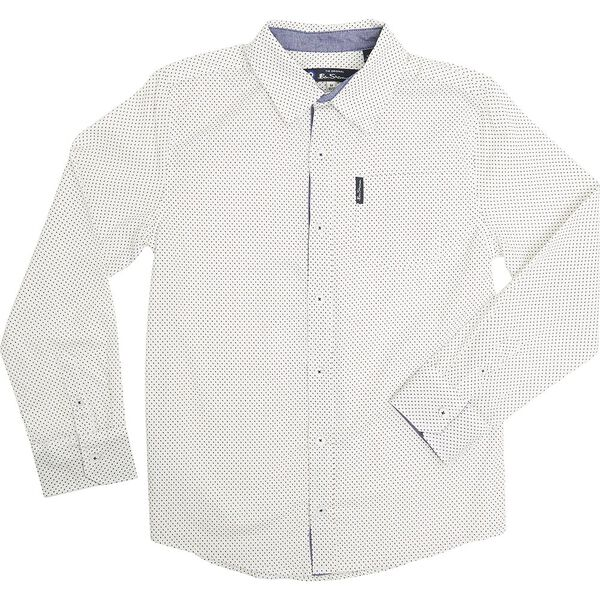 Ls Mini Motif Shirt Off White