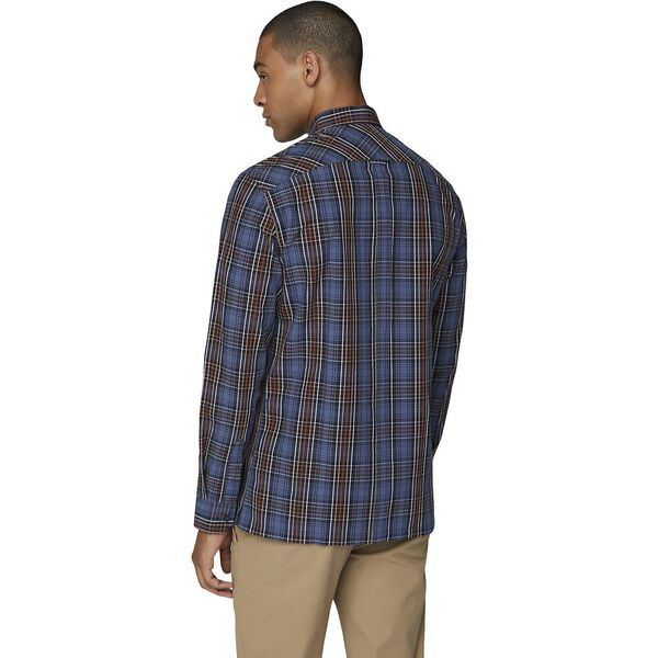 Ls Tartan Check Midnight, MIDNIGHT, hi-res