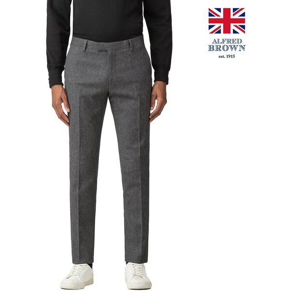 British Charcoal Donegal Trouser