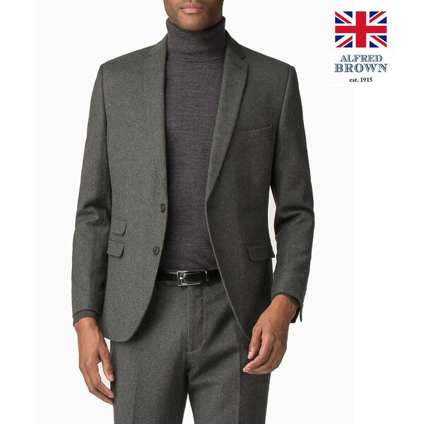 British Deep Sage Donegal Jacket