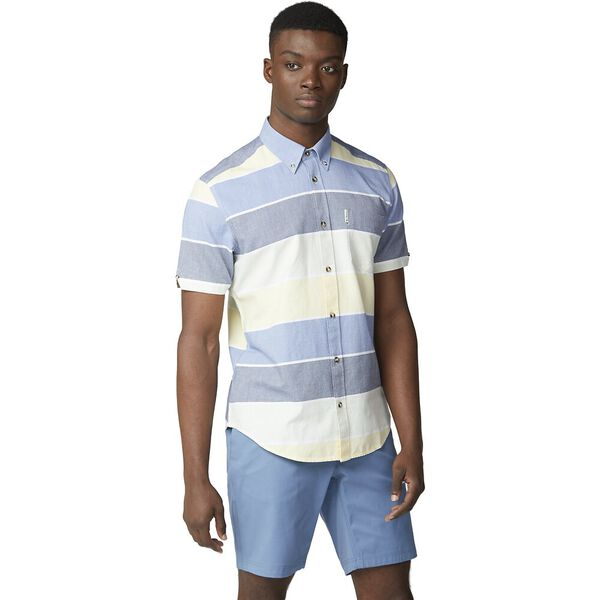 SS ENGINEERED STRIPE SHIRT