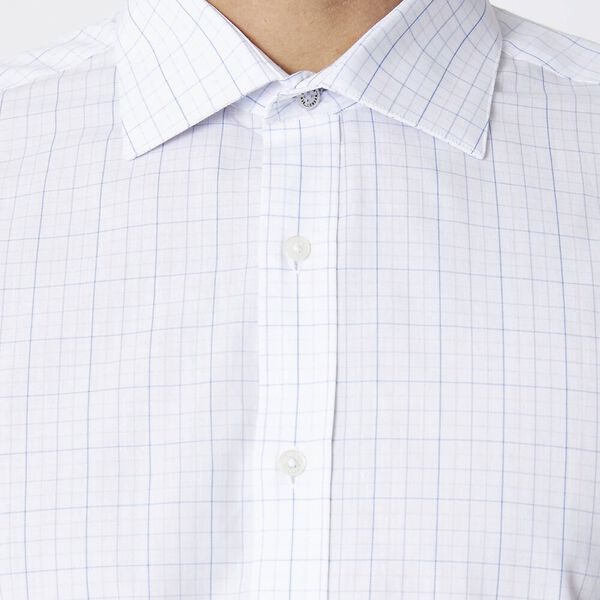 Ls Formal Kings Grid Check Shirt True Na, TRUE NAVY, hi-res