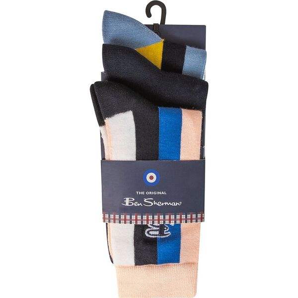 Snap 3 Pack Socks