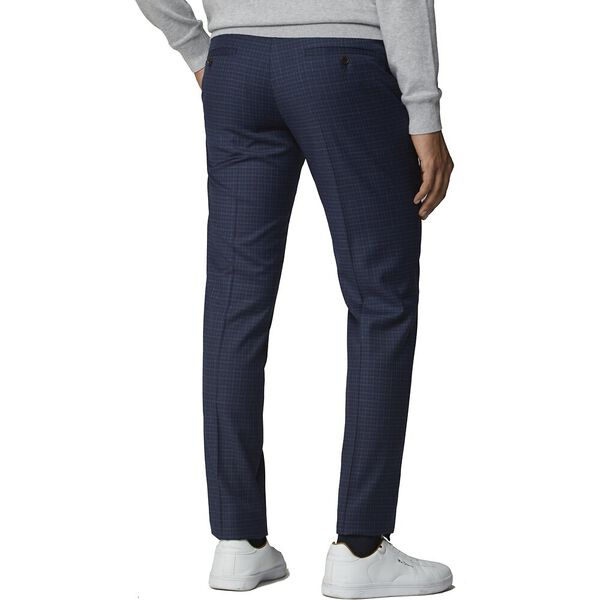 Blue Mod Micro Trouser Blue, BLUE, hi-res