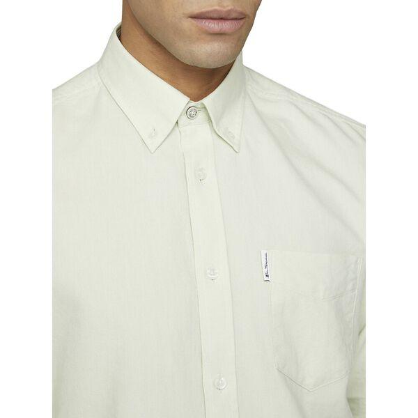 Signature Oxford Shirt, LIGHT GREEN, hi-res