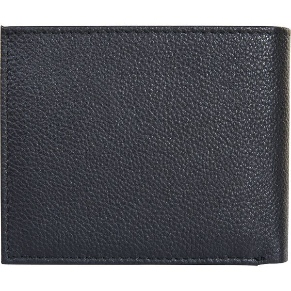 Hector Leather Wallet With Coin Pocket, BLACK, hi-res