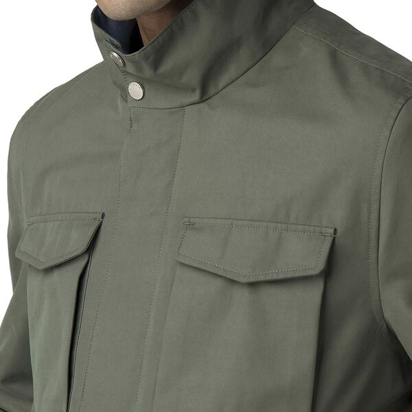 FOUR POCKET JACKET, DARK GREEN, hi-res