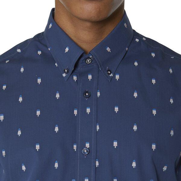 Ls Ice Lolly Geo Shirt, DARK BLUE, hi-res