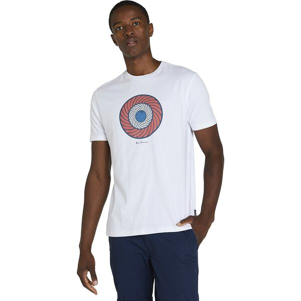 PSYCH TARGET TEE, WHITE, hi-res