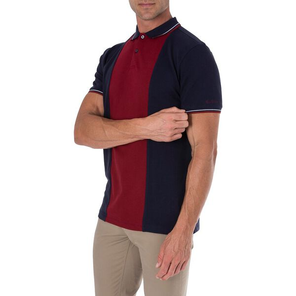 CUT AND SEW FRONT POLO