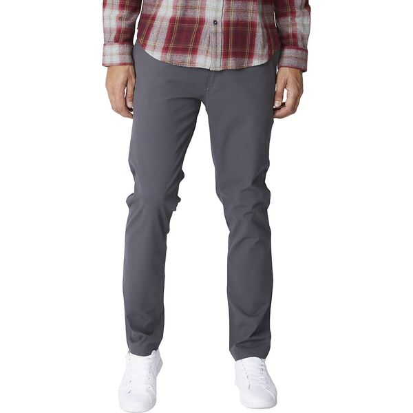 SLIM STRETCH CHINO DARK GREY