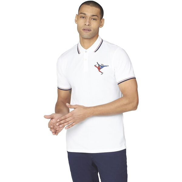 EMBROIDERED GUITAR POLO