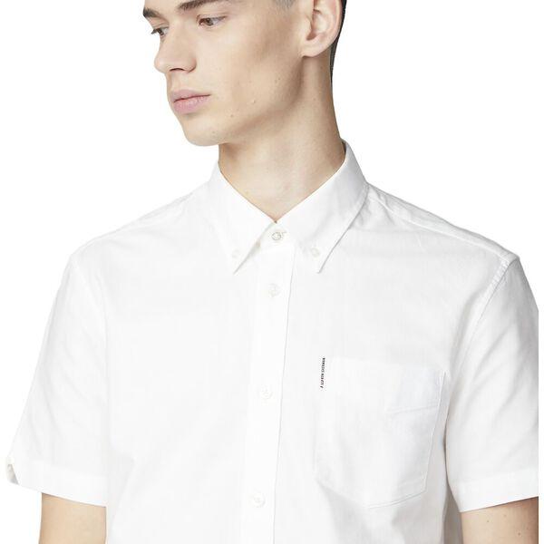 Oxford Shirt, WHITE, hi-res
