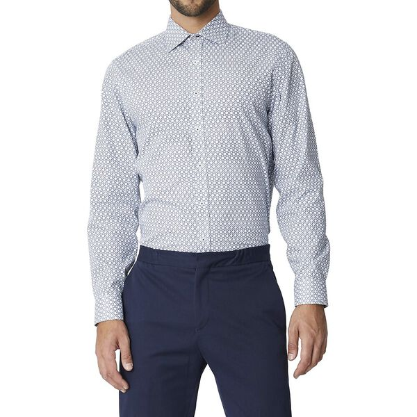 Ls Formal Kings Distress Target Shirt Da, DARK NAVY, hi-res