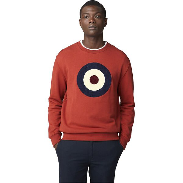 Boucle Target Sweatshirt Rust