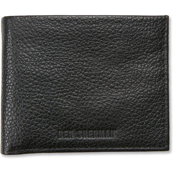 Bi Fold Wallet With Flip Black/Navy