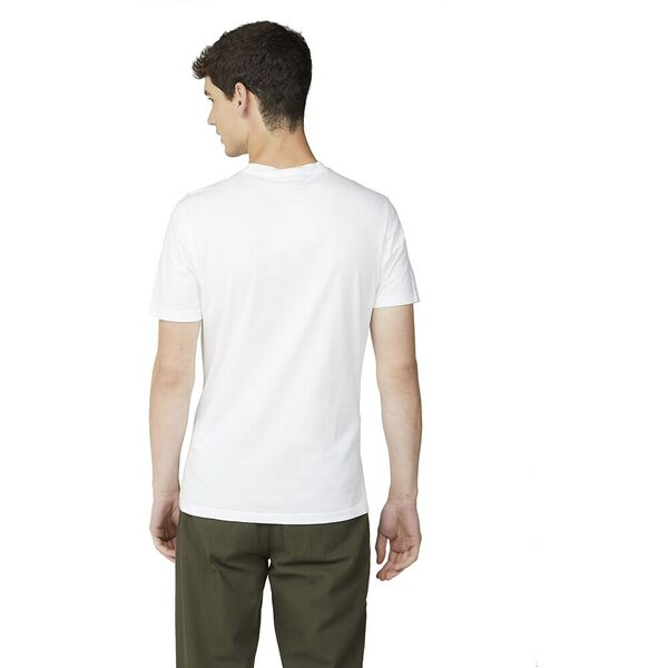 ORGANIC SIGNATURE POCKET TEE, WHITE, hi-res