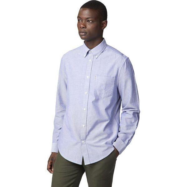 Ls Oxford Shirt Navy