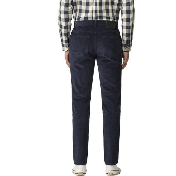 Corduroy 5 Pocket Trouser, DARK NAVY, hi-res