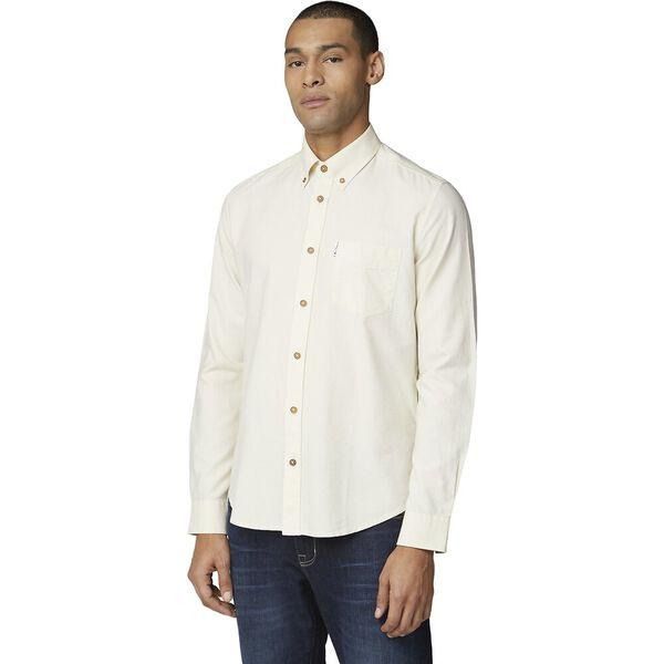 Signature Oxford Shirt, ECRU, hi-res