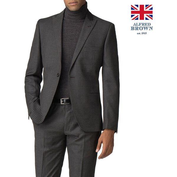 British Crepe Weave Gingham Jacket
