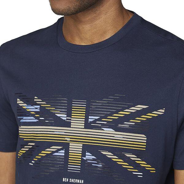 Union Stripe Tee Dark Navy, DARK NAVY, hi-res