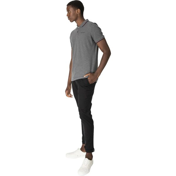 SLIM STRETCH CHINO, BLACK, hi-res