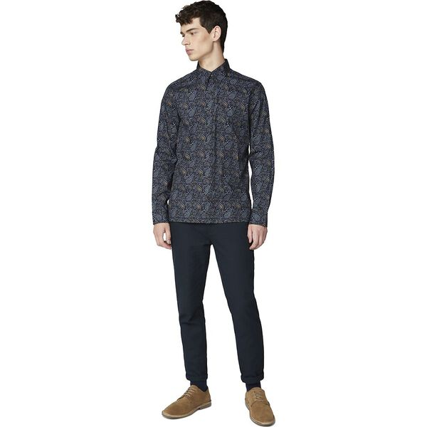 Ls Classic Paisley Print Anthracite
