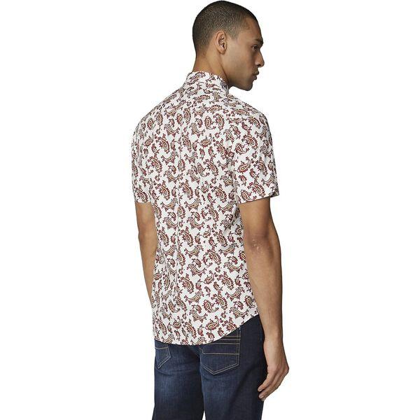 Paisley Shirt, ECRU, hi-res