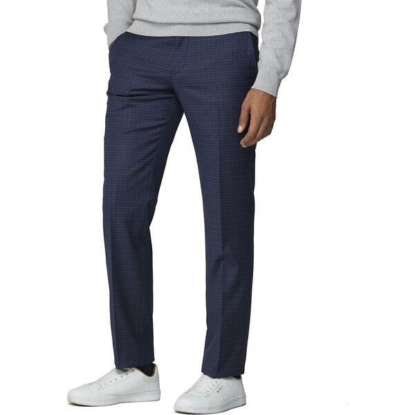 Blue Mod Micro Trouser Blue