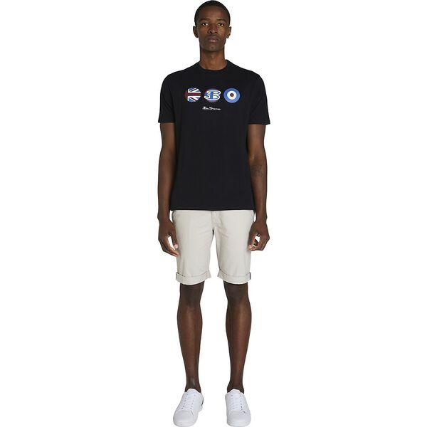 3 X HERITAGE TEE, BLACK, hi-res