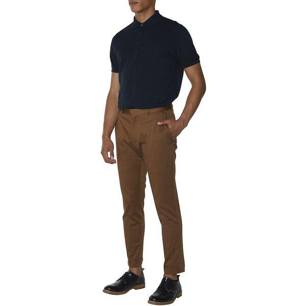 Tan Cotton Trouser, TAN, hi-res