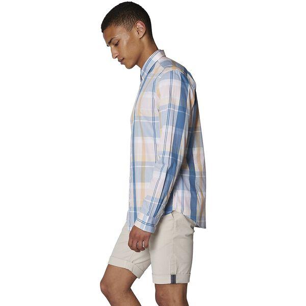Madras Check Shirt, BRIGHT BLUE, hi-res