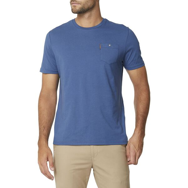 Pocket T Shirt Indigo, INDIGO, hi-res