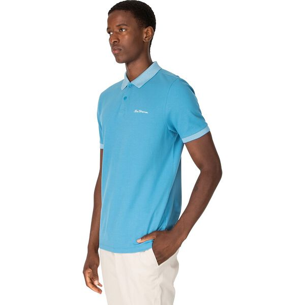 BIRDSEYE COLLAR POLO