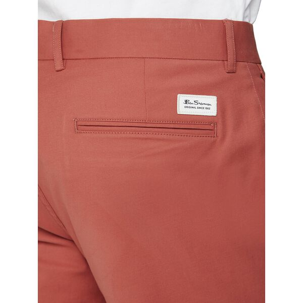 SIGNATURE SLIM STRETCH CHINO, TERRACOTTA, hi-res