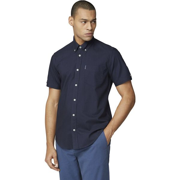 SIGNATURE OXFORD SHIRT, DARK NAVY, hi-res