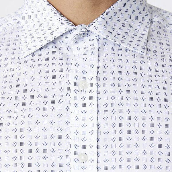 Ls Formal Kings Geo Grid Shirt True Navy, TRUE NAVY, hi-res