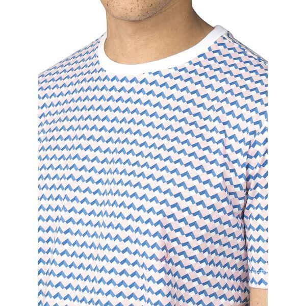 Printed Longline Fit T-Shirt, LIGHT PINK, hi-res