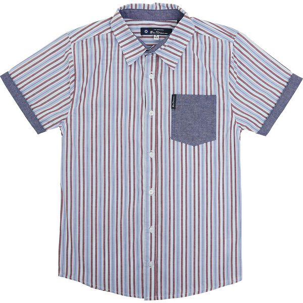 Kids Striped Check Shirt