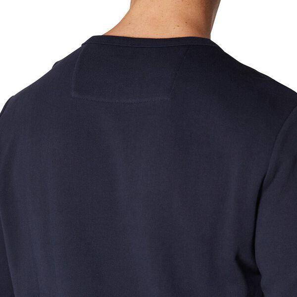 Logo Colour Block Sweat Midnight Navy, MIDNIGHT NAVY, hi-res