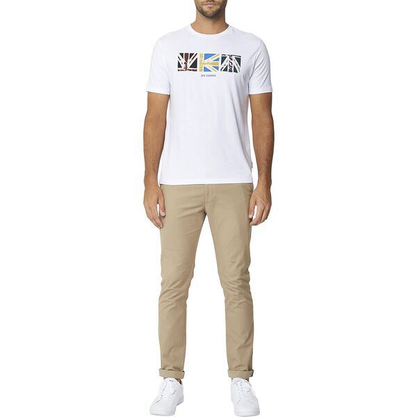 SQUARE UNION GRAPHIC TEE WHITE, WHITE, hi-res