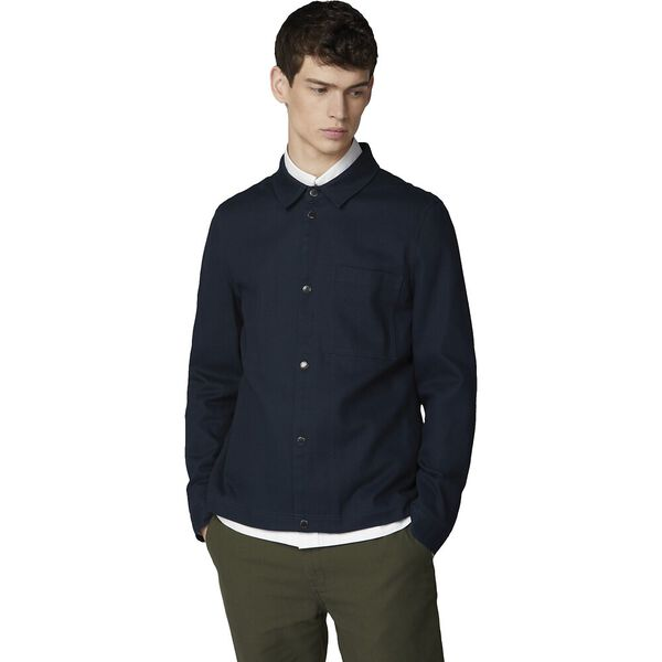 4Sb Twill Overshirt Midnight