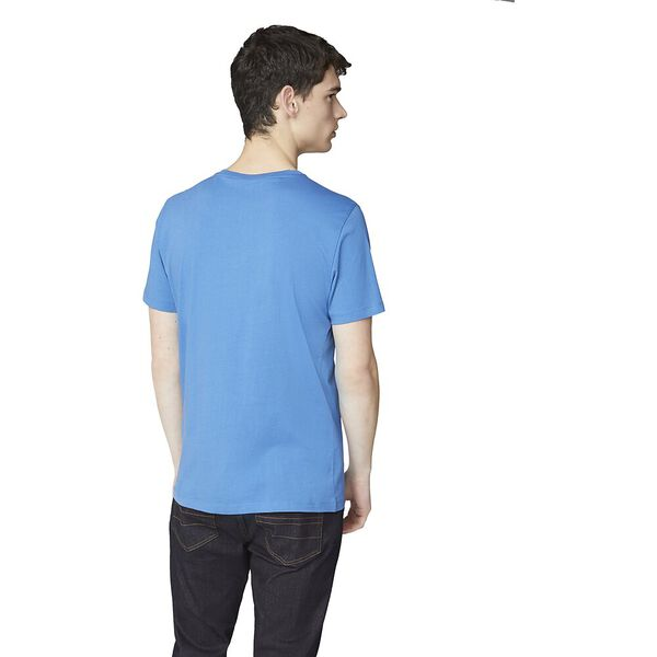 SIGNATURE LOGO TEE, ROYAL BLUE, hi-res