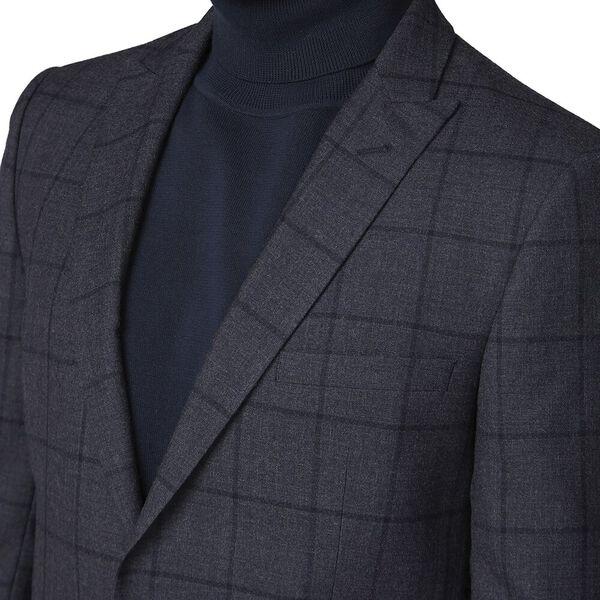 British Slate Windowpane Jacket Slate, SLATE, hi-res